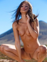 Caprice A outdoor nudity