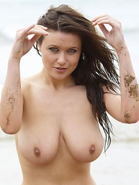 Marjana in Nude Beach