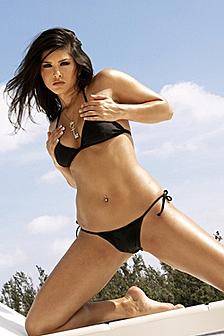Sunny Leone Black Bikini