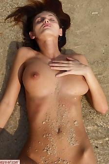 Linda On The Beach