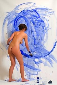 Ashley Nude Paint