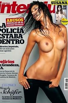 Micaela Schafer - Interviu (Spain)