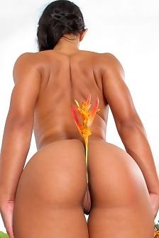 Ria Rodriguez Has A Sexy Round Ass
