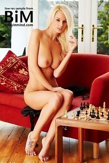 Rhian Sugden Naked Chess