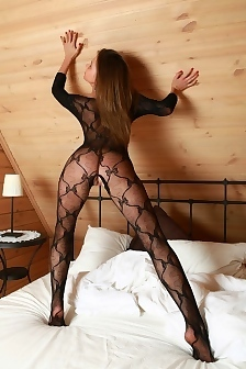 Liana Iron Bed Crotchless