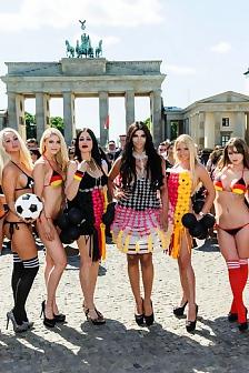 Micaela Schafer - Euro 2016 Photoshoot In Berlin