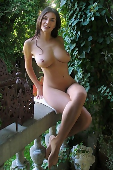 Busty Brunette Verena