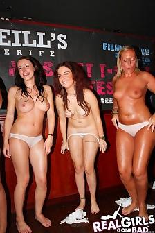 Hot Girls In A Wet T-Shirt Contest
